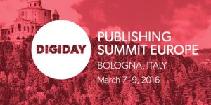 ADvendio at Digiday Publishing Summit Europe Advendio
