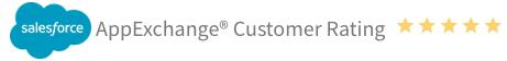 salesforce appexchange customer rating cross media